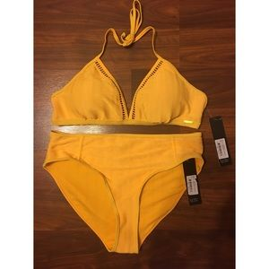 Two-Piece High Waisted Swimsuit